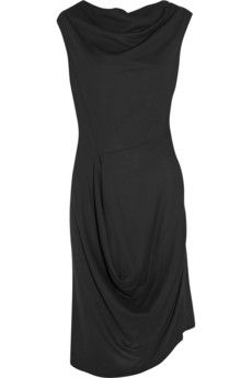 Vivienne Westwood Anglomania Prophecy two-way crepe dress   THE OUTNET