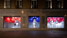 Dior windows 2014 Summer, Paris – France »  Retail Design Blog