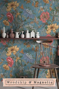 Onism– n. the frustration of being stuck in just one body, that inhabits only one place at a time. Proudly made in our design studio in Lancashire England Wallpaper Samples, Wallpaper Roll, Wall Wallpaper, Floral Print Wallpaper, Home Interior Design, Interior Decorating, Magnolia Paint, Victorian House Interiors, Design Repeats