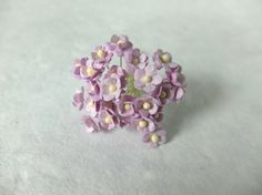 25 Mulberry lilac paper flowers by eastmeetswest on Etsy (Craft Supplies & Tools, Floral Supplies, Artificial Flowers & Plants, gift wrap, paper flower, flower, mulberry paper, mulberry, wedding decor, pink flower, mulberry pink, pink mulberry, lilac flower, violet flower, flower supplies, light purple flower)