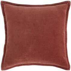 An enduring classic—soft, touchable velvet reverses to a smooth, shiny satin in a warm, brick hue. What better way to add dimension and richness to your favorite chair, update a sofa or refresh your favorite pillow arrangement.