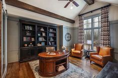Mountain living with emphasis on entertaining: Blue Ridge model home