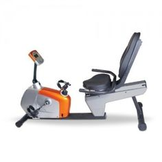 Magnetic Recumbent Bike features a Drum Magnetic Control System (DMC),