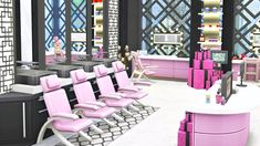 BEAUTY SALON | Sims 4 Speed Build