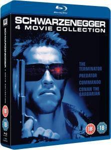 Arnold Schwarzenegger 4 Movie Box Set Blu-ray NOW £6.99 delivered at Zavvi