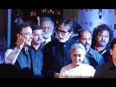 Amitabh Bachchan & Jaya Bachchan at MAMI Mumbai Film Festival Festival 2016, Film Festival, Amitabh Bachchan, Bollywood News, Mumbai, 18th, Interview, Videos, Youtube