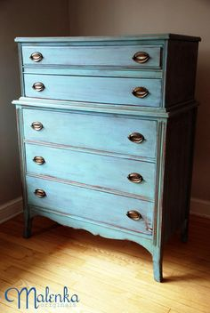 Trendy Ideas For Blue Distressed Furniture Diy Dressers