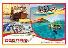Deenar Travel and Tourism: Musandam Tour, Oman