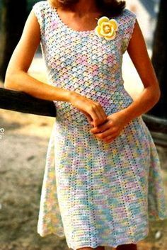 Мобильный LiveInternet Платье крючком. | Irina_Tokareva - Дневник Irina_Tokareva |