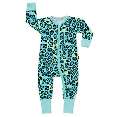 BuyBonds Baby Zip Jungle Wondersuit Sleepsuit, Multi, Newborn Online at johnlewis.com