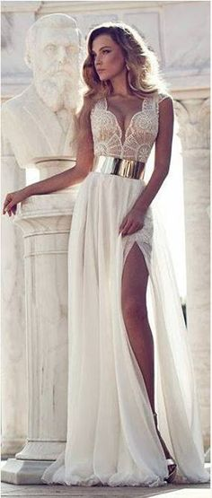 """This might be a little """"too sexy"""" if you are having a church wedding. ;)"""