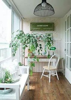 White and greens Room Inspiration, Interior Inspiration, Design Inspiration, Small Apartments, Small Spaces, Hidden Rooms, Space Interiors, Secret Rooms, Small Apartment Decorating
