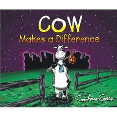I'm fully aware this is not a lion, but the theme of this book involves the cow visiting a lion and learning to just be himself. Cow Makes a Difference (Cow Adventures)