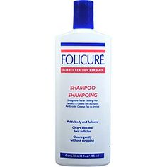 Folicure Shampoo 12oz For Fuller Thicker Hair (3 Pack) -- Click on the image for additional details.