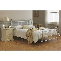 Buy Collection Eversholt Kingsize Bed Frame - White at Argos.co.uk, visit Argos.co.uk to shop online for Bed frames, Bed frames