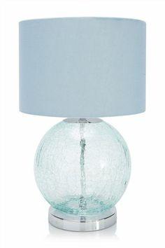 Duck Egg Mini Pyramid Crystal Table Lamp Dunelm Lighting Decor PinItToWin