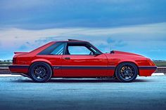 Tony Frank's flawless 1985 Four-Eye Mustang GT Fox Body Mustang, Mustang Cobra, Ford Mustang Gt, Mustang Hatchback, Notchback Mustang, Classic Mustang, Ford Classic Cars, Lifted Ford Trucks, Big Trucks