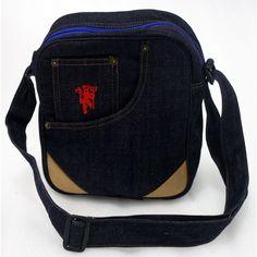 tas manchester utd slempang jeans murah. . kode barang: MUSLIDEN2. harga: 85rb. SMS/WA/LINE: 085736078627 BBM: 54619660