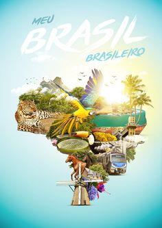 Meu Brasil Brasileiro on Behance