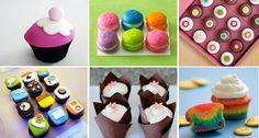 Fun cupcake designs