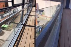 Recent Work - Painting & Decorating - Steel Balcony Structures