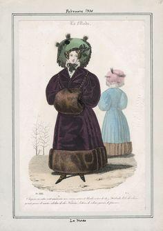 La Mode February 1830 LAPL