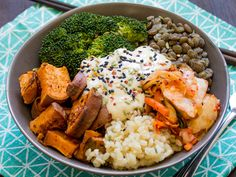 Tendance cuisine healthy : on craque pour le Buddha Bowl !