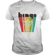 I Love Retro Bingo T-Shirt