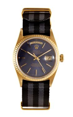 Shop 1987 Rolex 18K Day-Date With Rare Tiffany