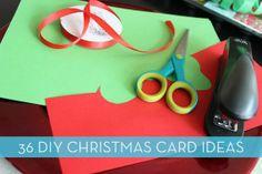 36 Easy Handmade Christmas Card Ideas » Curbly | DIY Design Community