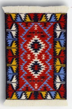 View album on Yandex. Small Tapestry, Hippie Crochet, Calligraphy Art, Rug Hooking, Hama Beads, Shabby Chic Decor, Rugs On Carpet, Cross Stitch Patterns, Bohemian Rug