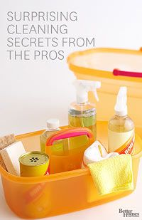 Cleaning Secrets from the Pros   BHG.com