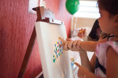 CUTE IDEA FOR A GUEST BOOK AT A BIRTHDAY PARTY! Up Themed Birthday Party via Kara's Party Ideas | KarasPartyIdeas.com #up #birthday #party #supplies #ideas (3)