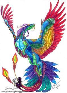rainbow dragon - Buscar con Google