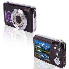 DC-5100 15MP  Digital Camera  This camera has a CMOS sensor, 15MP resolution, 2.7 inch TFT screen, 15.0 megapixel mas resolution, Up to 32GB, Optical zoom lens, 4x digital zoom, and much more!