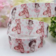 165641,25MM cartoon series pattern printed ribbon grosgrain ribbon packaging, DIY accessories handmade materials #Affiliate