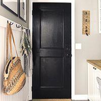 Easiest DIY flat panel door update tutorial!