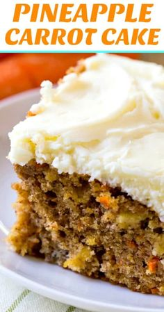 Pineapple Carrot Cake Pineapple Carrot Sheet Cake with Cream Cheese Frosting. Sheet Cake Recipes, Sheet Cakes, Frosting Recipes, Fruit Frosting Recipe, Boxed Cake Recipes, Carrot Sheet Cake Recipe, Cake Receipe, Dump Cake Recipes, Köstliche Desserts