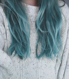Really want blue hair right now