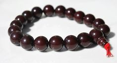 Dark Brown Bodhi Root Mala Bracelet / by BohoBeachJewelry on Etsy, $4.00