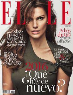Filippa Hamilton for Elle Spain January 2016 cover - Louis Vuitton Resort 2016