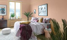 3 Color Trends 2018 by Alcro - Discover 15 news shades - Eclectic Trends Home Decor Trends, Interior Design, Bedroom Decor, Color Trends 2018, Trending Decor, Small Space Interior Design, Interior Design Living Room, Hallway Designs, Home Decor