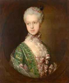 1764 and 1765 Elizabeth Wrottesly by Thomas Gainsborough (National Gallery of Victoria - Melbourne, Victoria, Australia) From liveinternet.ru:users:kolybanov:post316855636: inc. exp filled in shadows