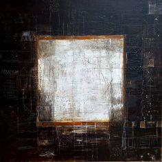 Maria Castro ''Magic square'' Mixed media 100X 100 cm SOLD