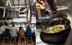 Kigo Kitchen restaurant branding #gritsandgrids
