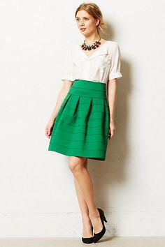 Ponte Bell Skirt #anthropologie
