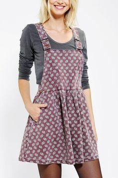 Cassette Society Boulevard Overall Skirt - Urban Outfitters