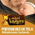 @MamiKanguro portabebés de tela para #mamastuiteras
