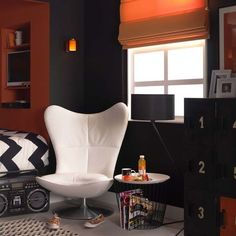 Black And Orange Bedroom black bedroom ideas, inspiration for master bedroom designs