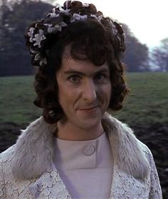 Eric Idle. Never get tired of the Monty Pythin men in bad drag.